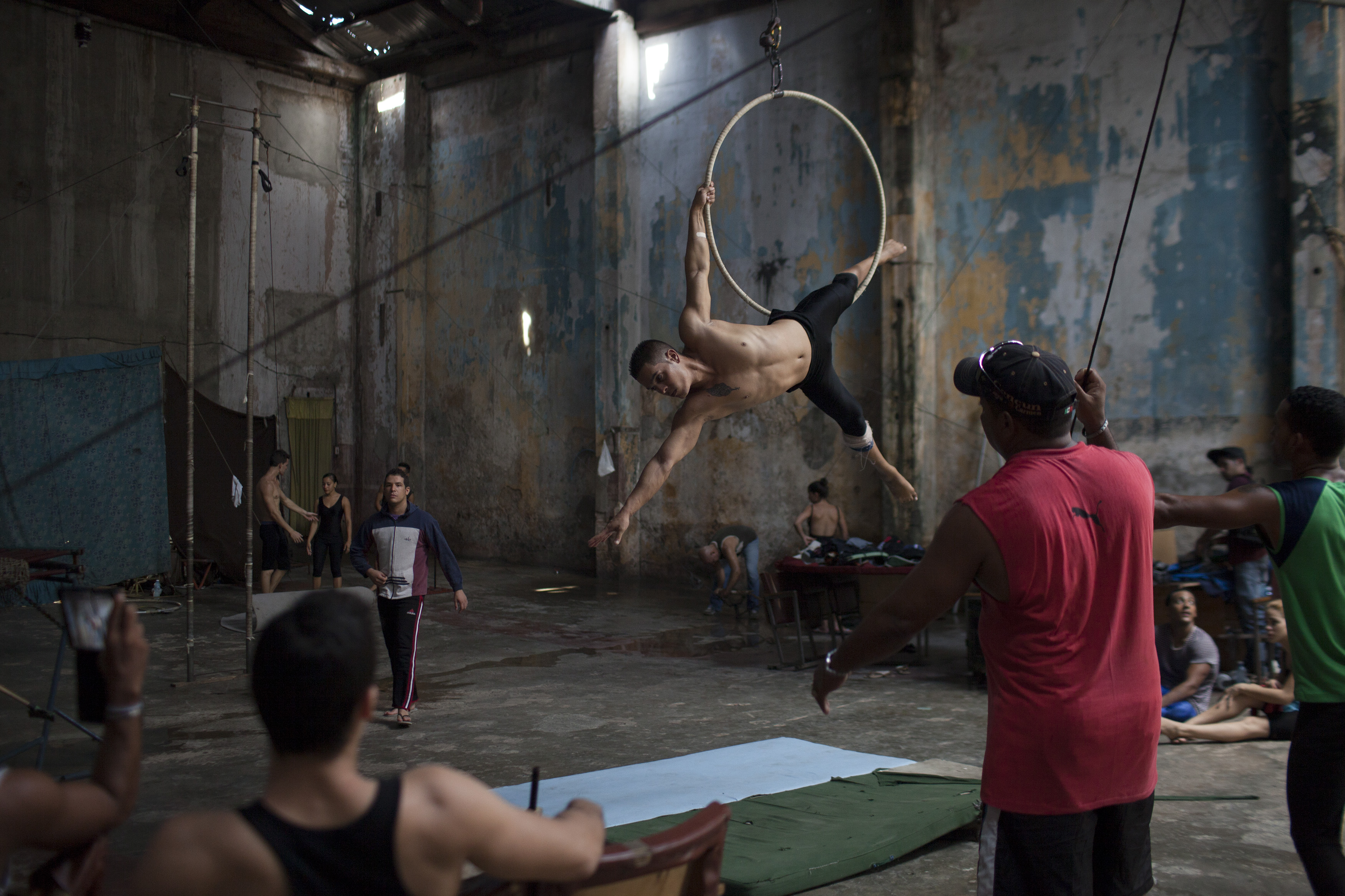 Cuban School of Circus - series