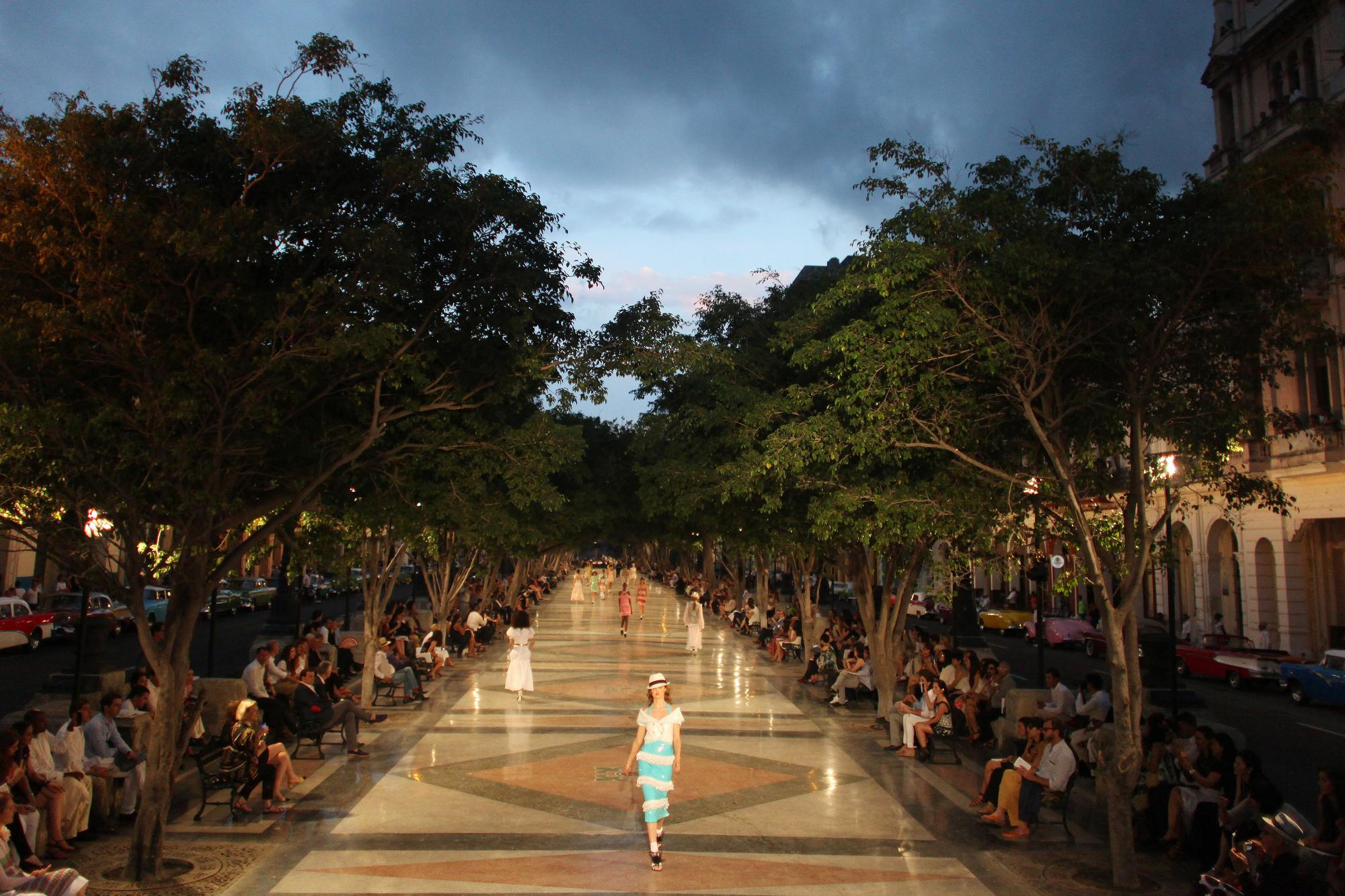 Chanel in Havana - series