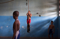 Cuban Young Wrestlers - series
