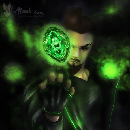 Dark Green Cristal