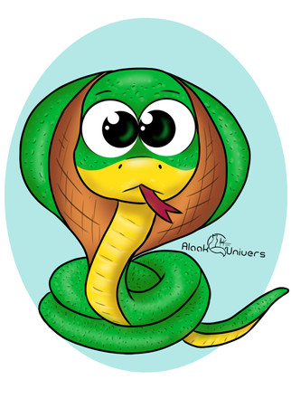 Spiky, le cobra