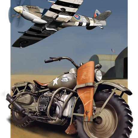 Harley & Sptifire