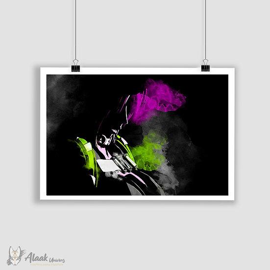 Pink & Green II