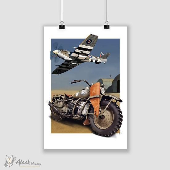 Harley Davinson & Spitfire