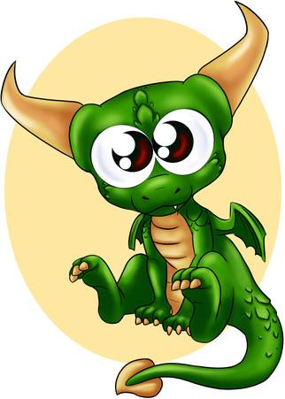 Péridot, le dragon vert