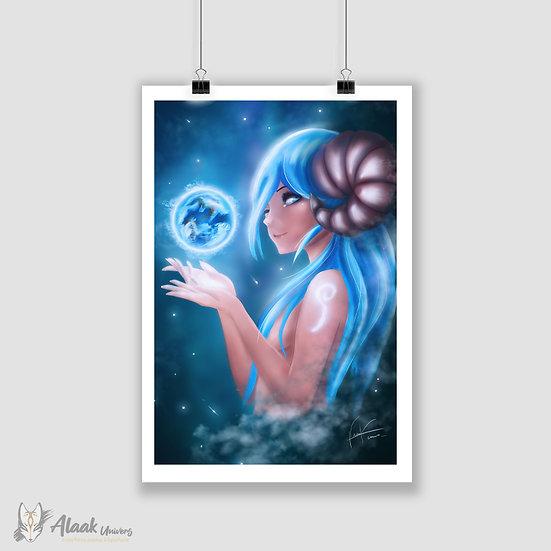 Beline, déesse des mondes