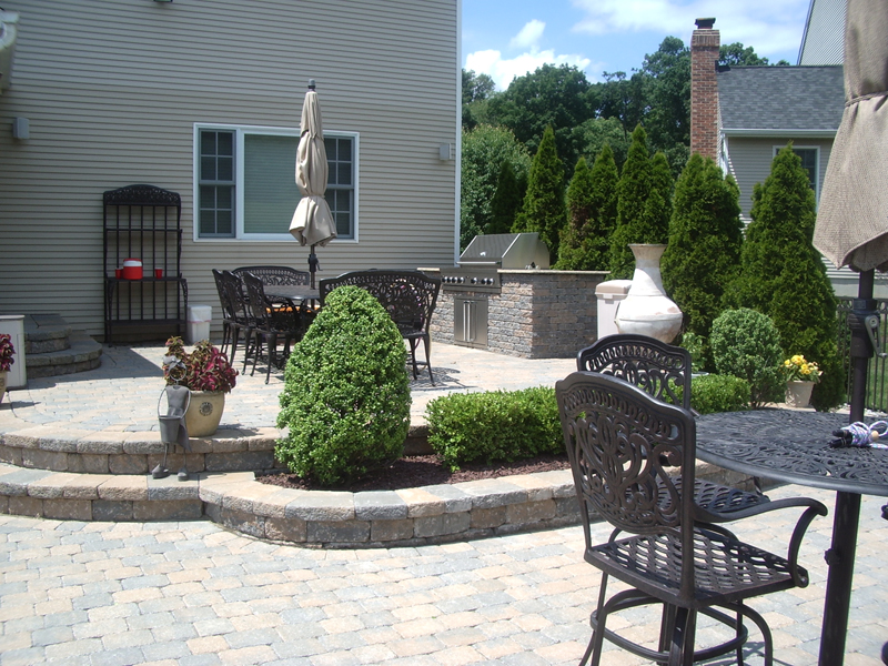 Paverbrick patio