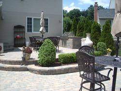 Paverbrick patio