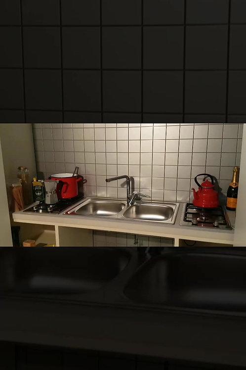 cucina invisibile