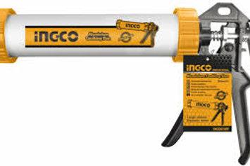 pistola per silicone prof.alluminio