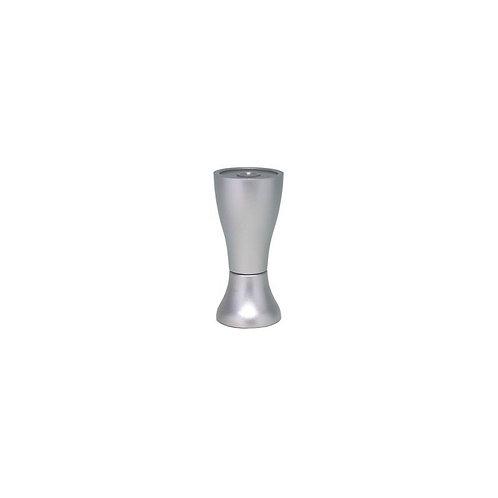 piedino abs h 9 col alluminio