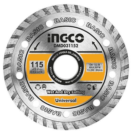 disco diamantato 115