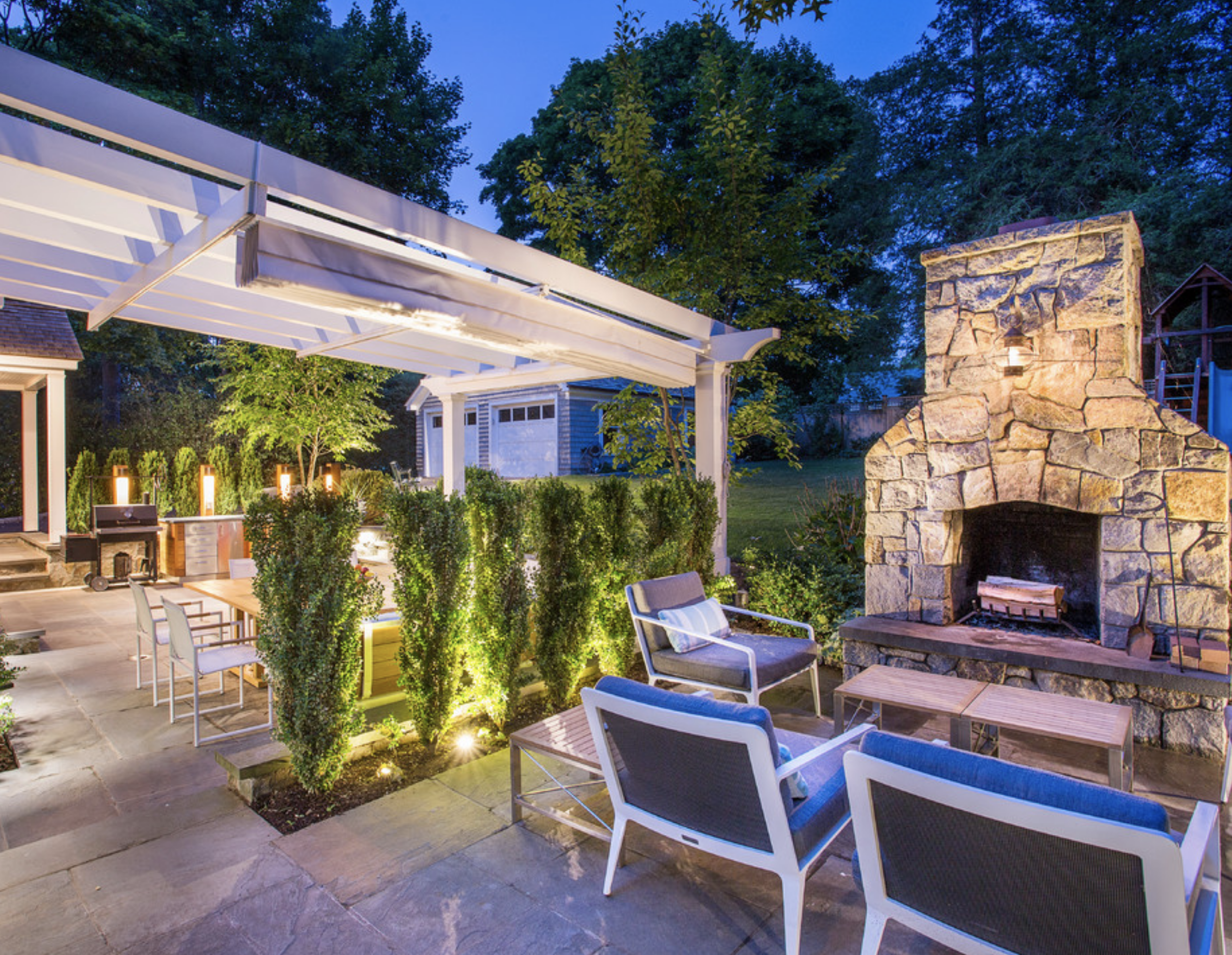 outdoor kitchen SR Interiors