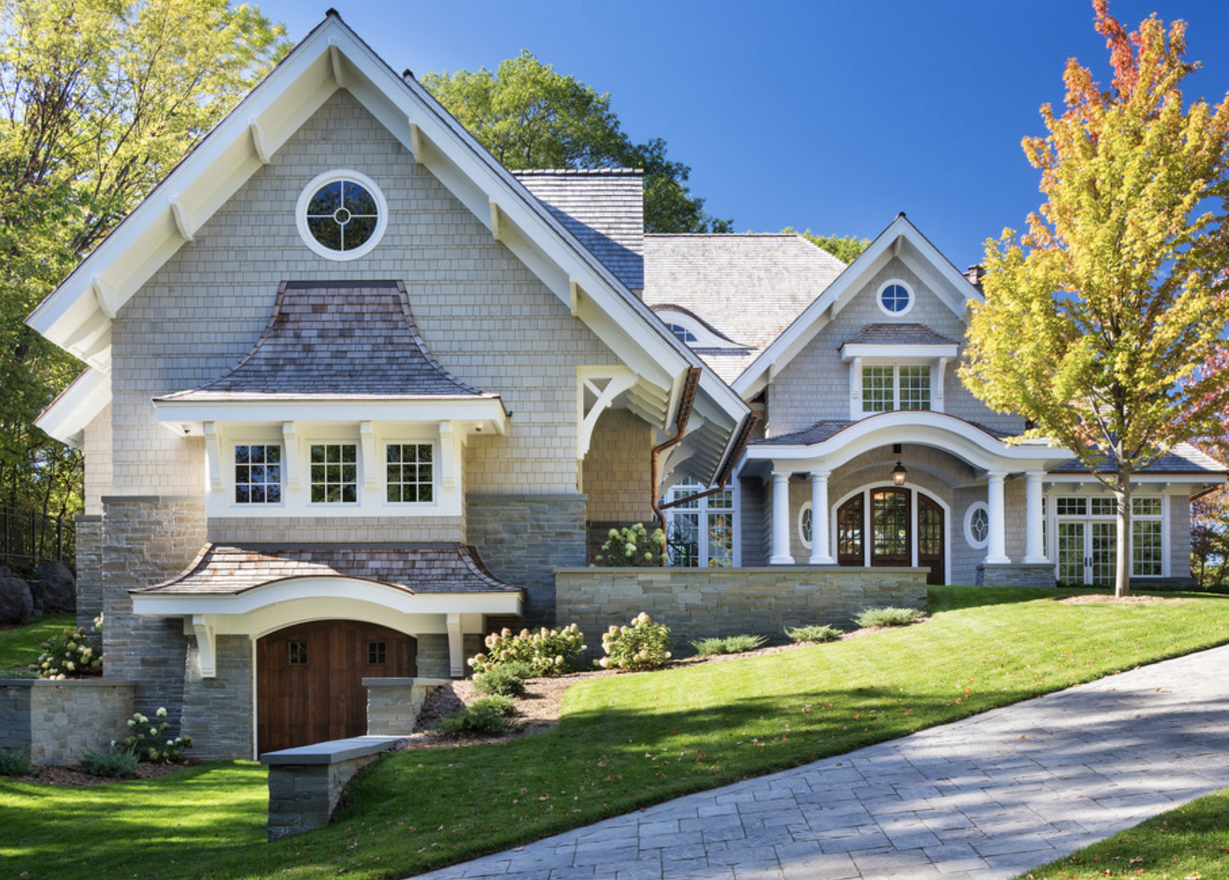 siding brick roofing home exterior