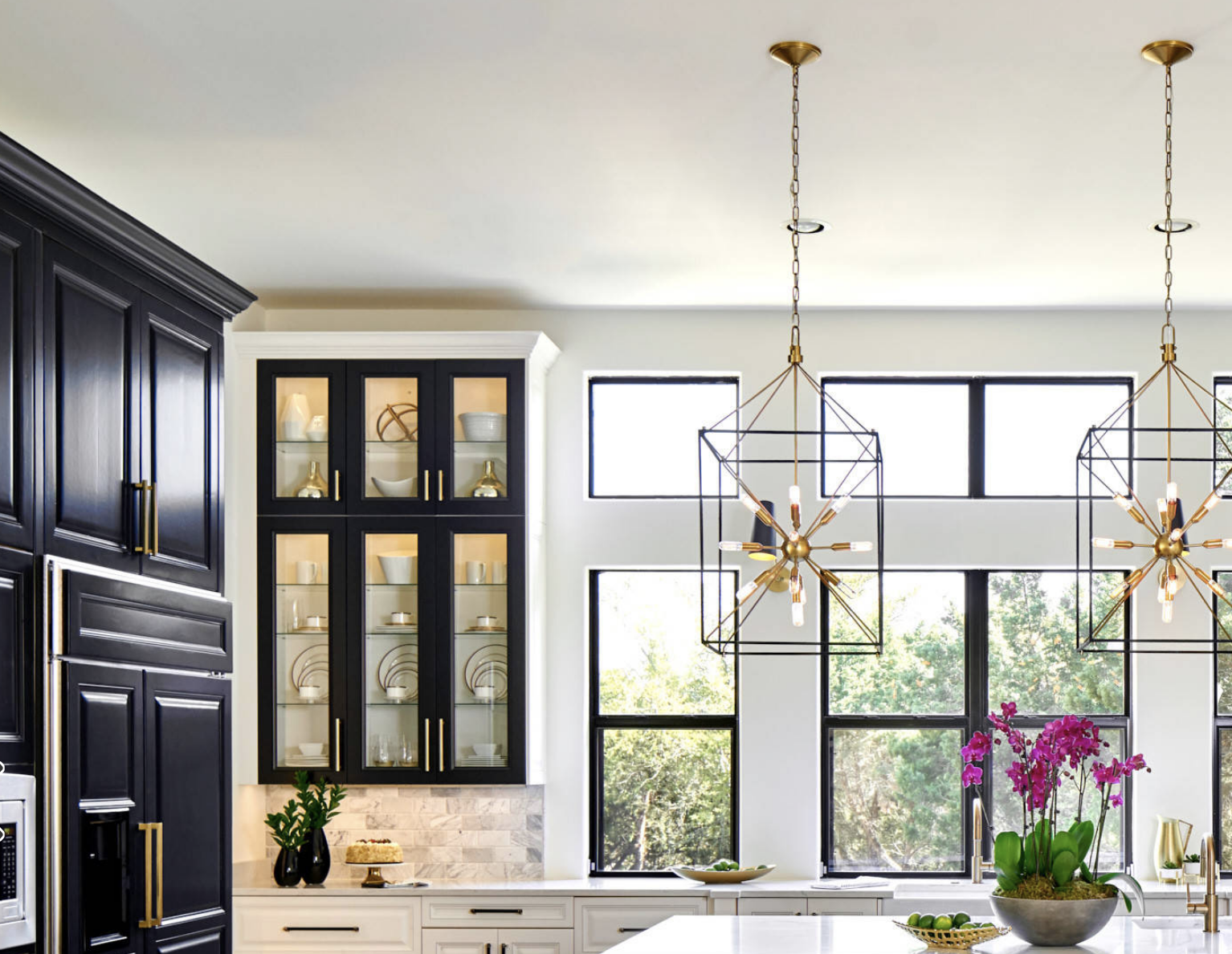 Kitchen and lighting SR Interiors