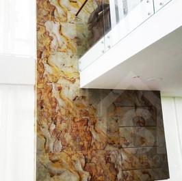 Fachada en piedra natural flexible