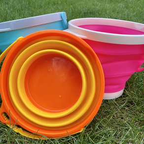 Collapsible Upchuck Buckets