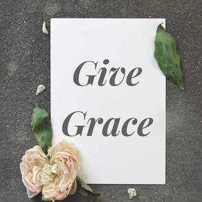 Give Grace