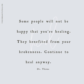 Healing with New Wounds