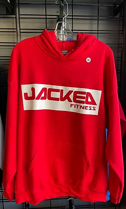 Red Jacked Fitness Hoodie