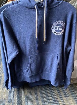 BYE blue pullover hoodie