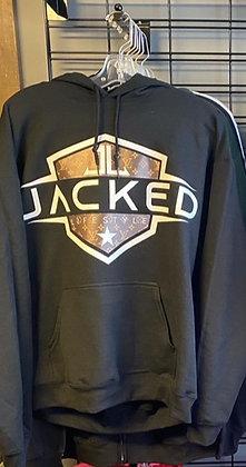 Black Jacked Pullover Hoodie