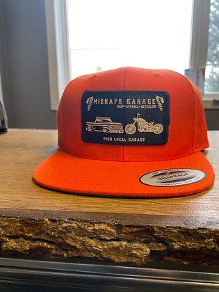 Red Mishaps Garage Snapback