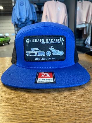 Blue Mishaps Garage Snapback