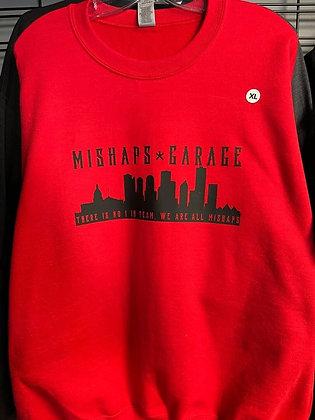Red Mishaps Sweatshirt