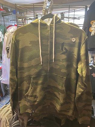 BYE camo hoodie