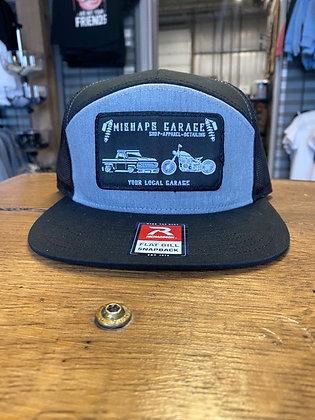 Mishaps Garage Black with Grey Snapback