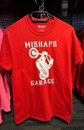 Red Mishaps Garage Tee
