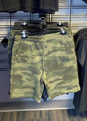 Eville Empire Camo Shorts