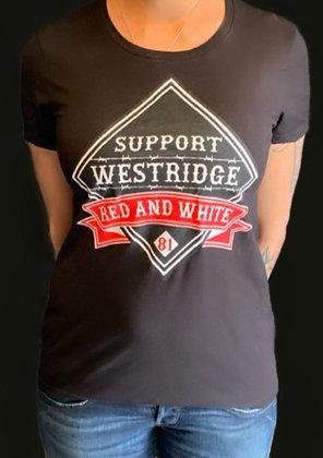 Ladies Diamond Support Westridge Tee