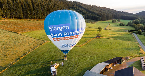 Volksbank Ballon Start Fehrenbracht