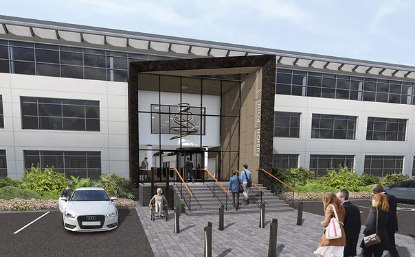 Plans Submitted for the Refurbishment and Extension to Fusion point 1, Cardiff.