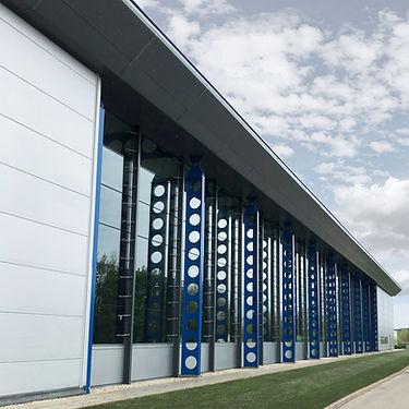 Industrial Unit in Nottingham Complete