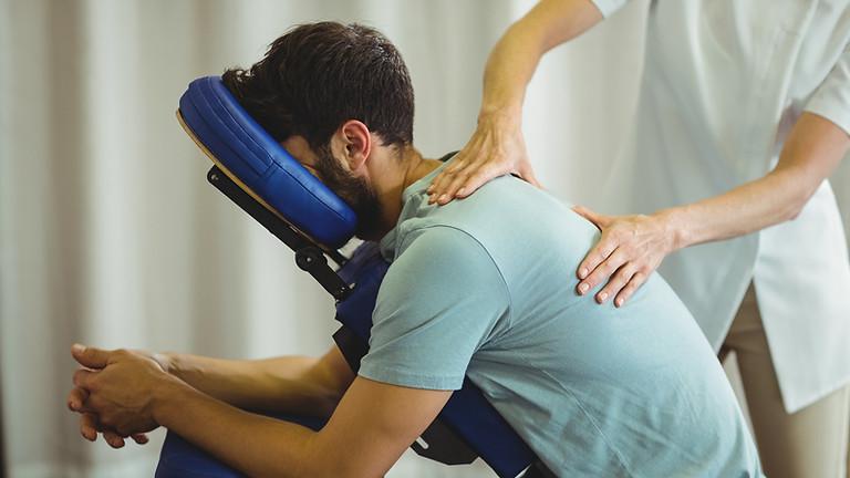 Shiatsu sur chaise (massage)