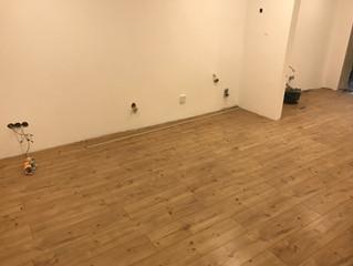 Erster Raum mit dem endgültigen Boden