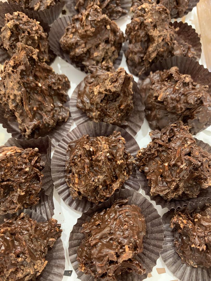 Chocolate Haystacks