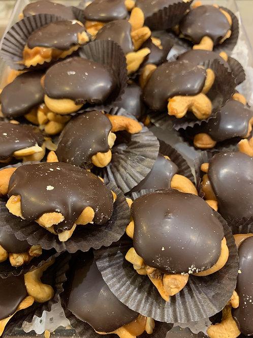 Dark Chocolate Cashew Cluster