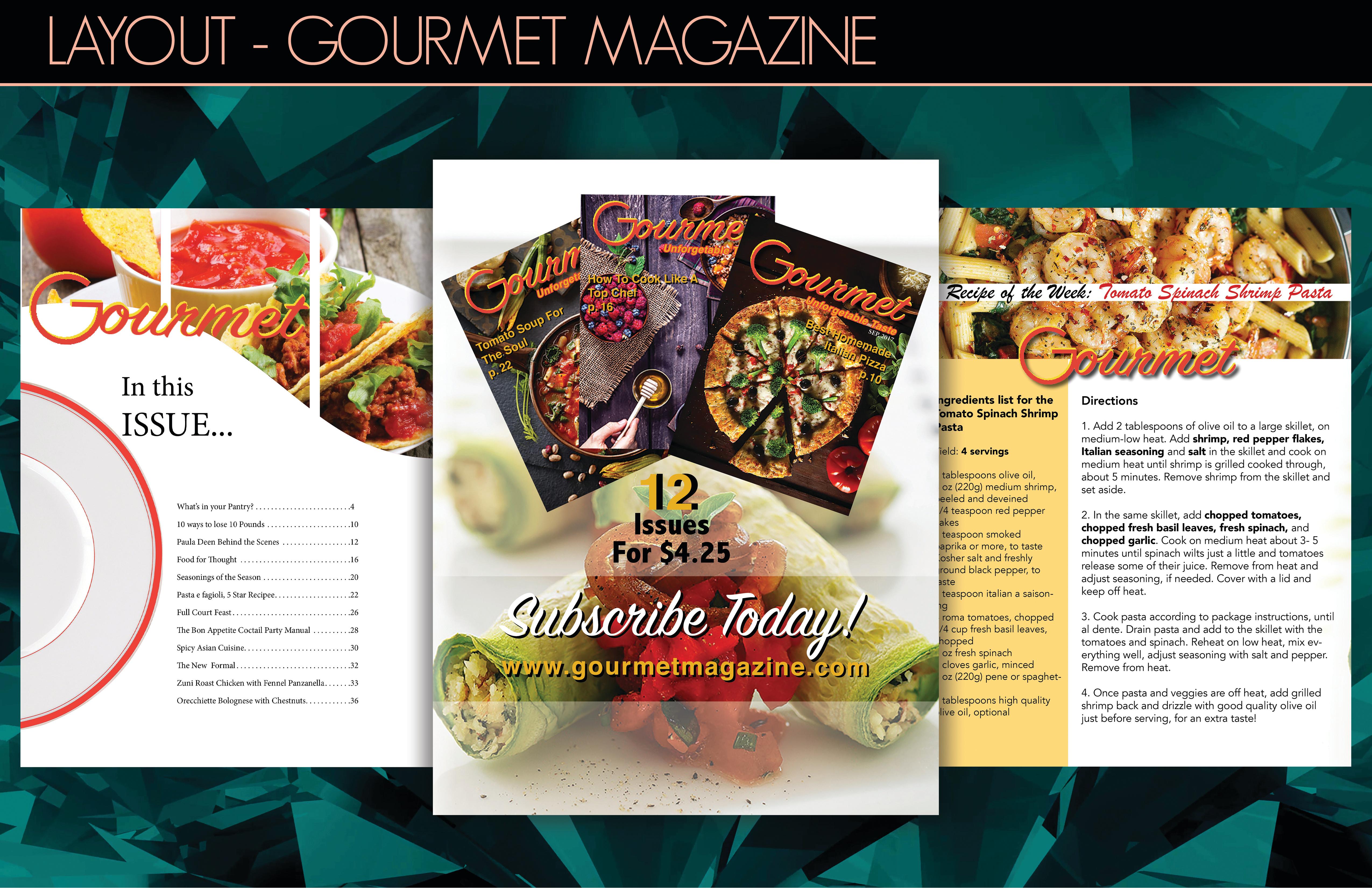 Gourmet magazine