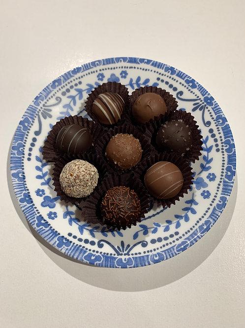 Dessert Plate with Truffles