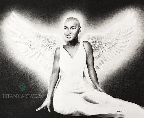 X-Large Charcoal Portrait, 18x24
