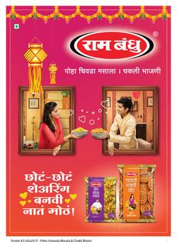 Poster A3 vertical_Poha chiwada Masala & Chakli Bhajni
