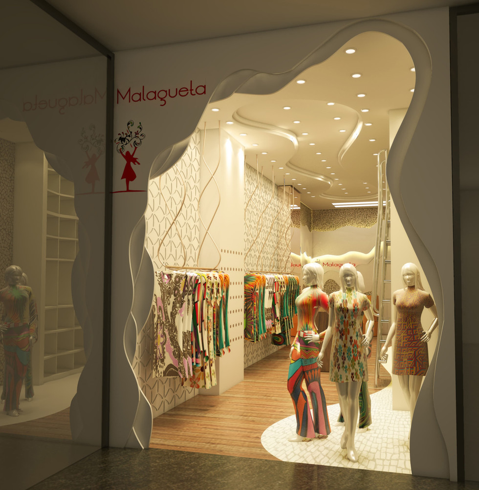 Loja Shopping - Artusi Arquitetura
