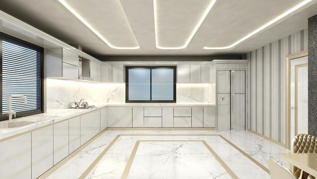 Yalova Villa Projesi Proje İç Görünüş  (