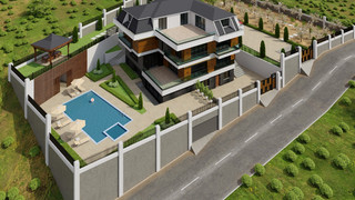 Yalova Villa Projesi Genel Görünüş (8).j