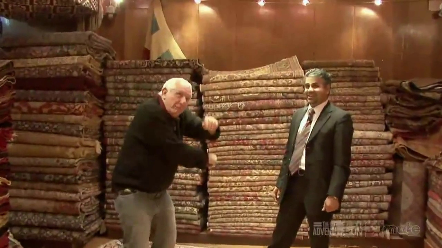 World Travel Channel visits Hakan Evin Rug Store in Grand Bazaar, Istanbul