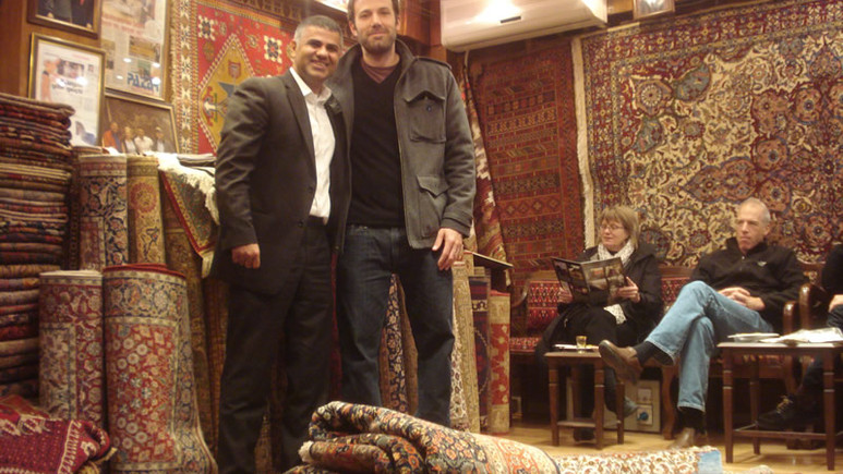 Ben Affleck talks about his Grand Bazaar Experience and Hakan Evin Rug Store at Jimmy Kimmel Live